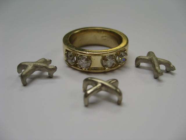 Assembly of new ring