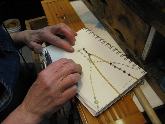 Constructing the necklace