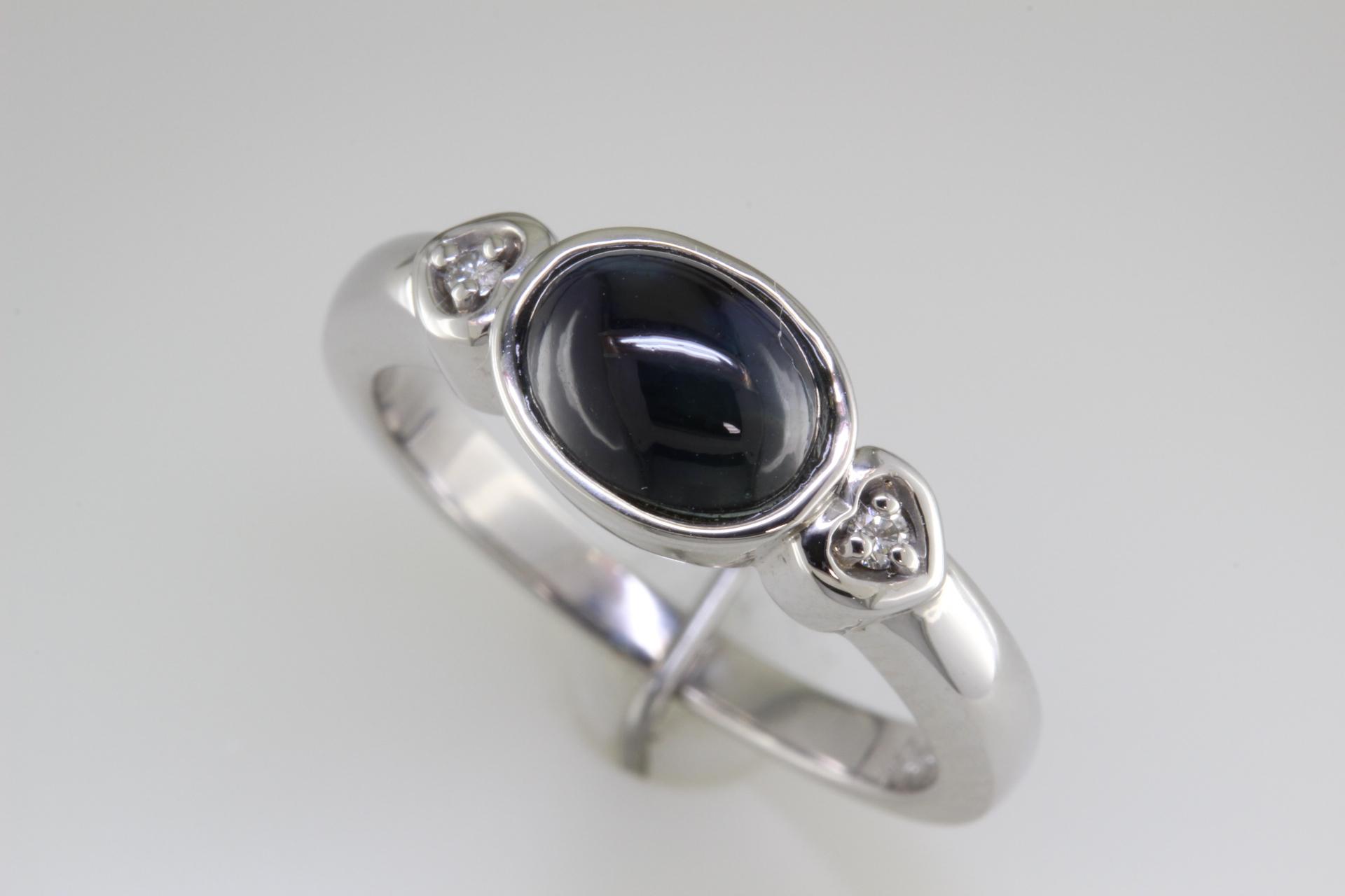 Cabachon Sapphire ring