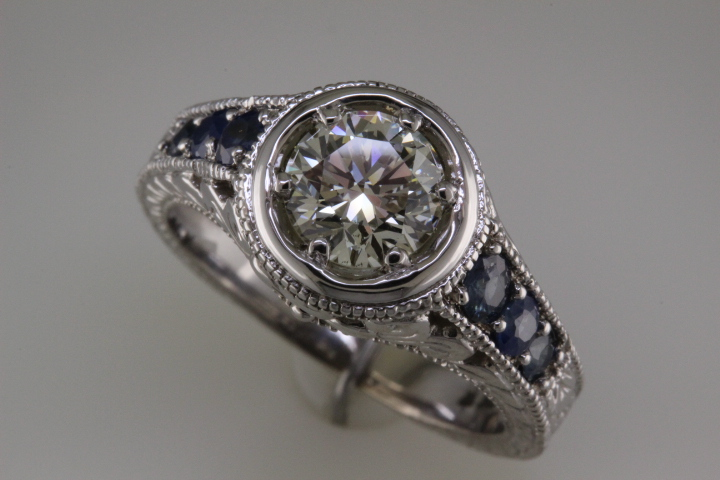 Finished Fashion Ring