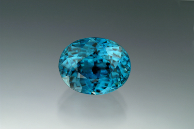 Loose Blue Zircon Gemstone