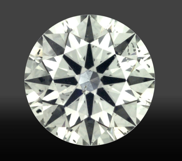 Magnified image of diamond