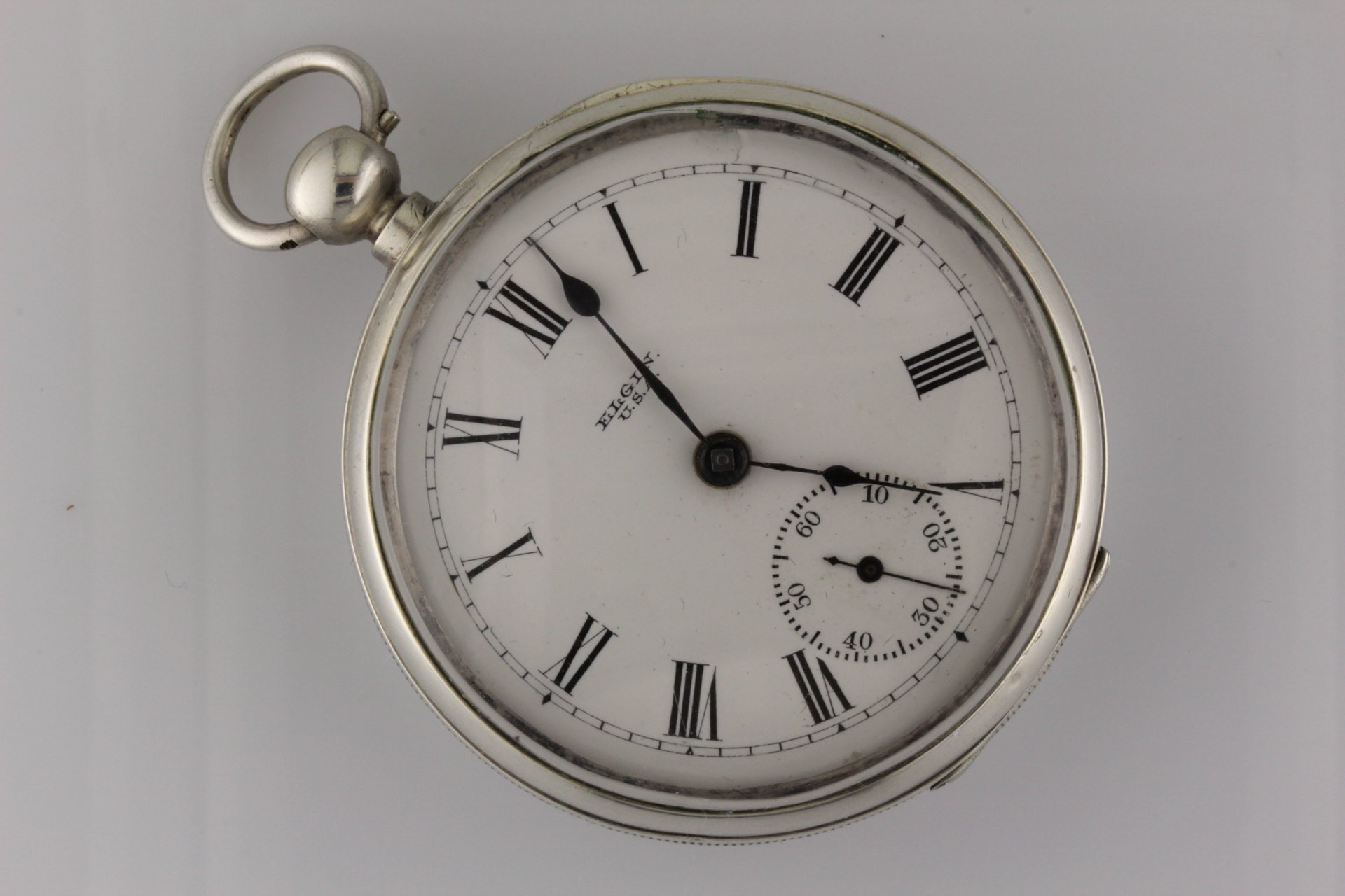 Silver Elgin Pocket Watch