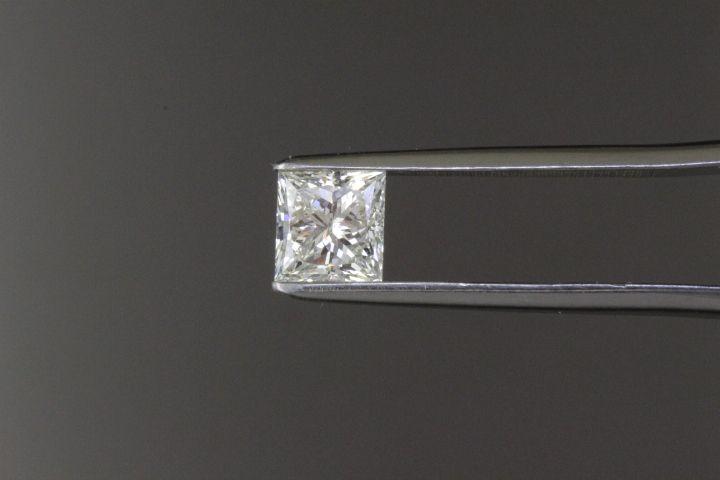 Loose princess cut diamond