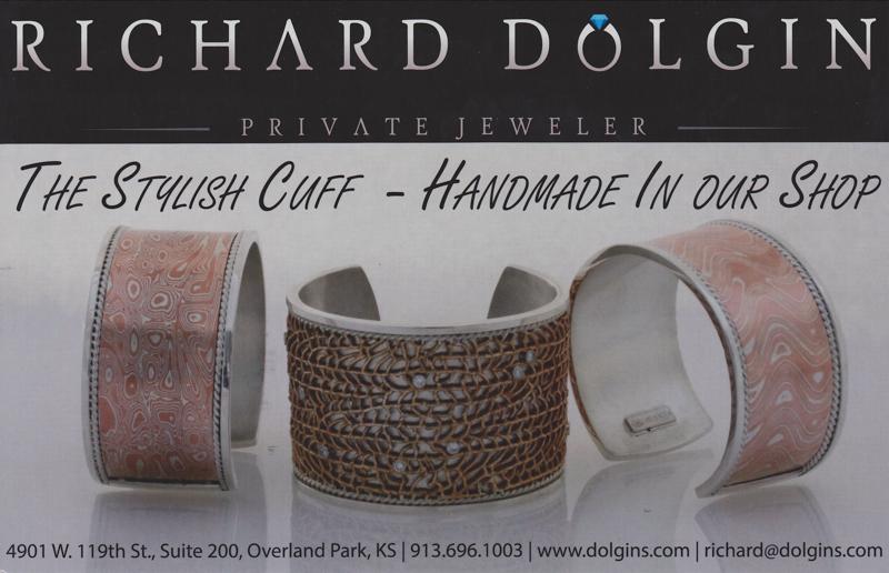 Custom crafted cuff bracelets from Richard Dolgin Private Jeweler