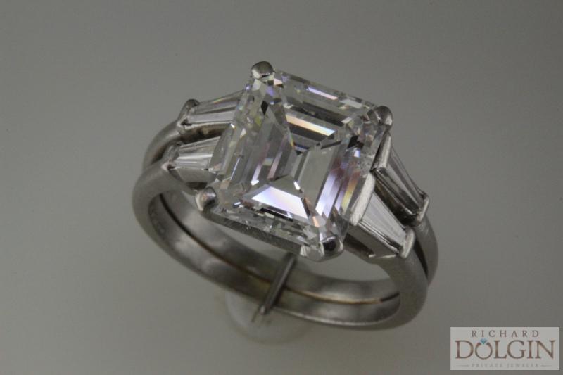 3 carat emerald cut