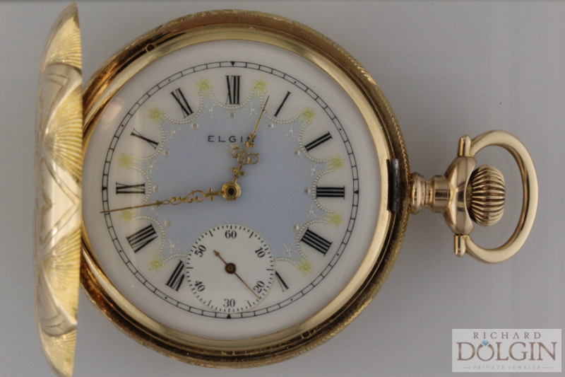 Elgin Gold Pocket Watch
