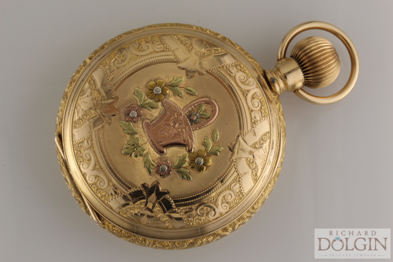 Waltham Pocket Watch Case