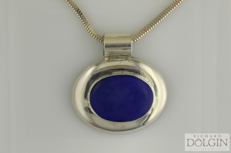 Lapis fashion pendant