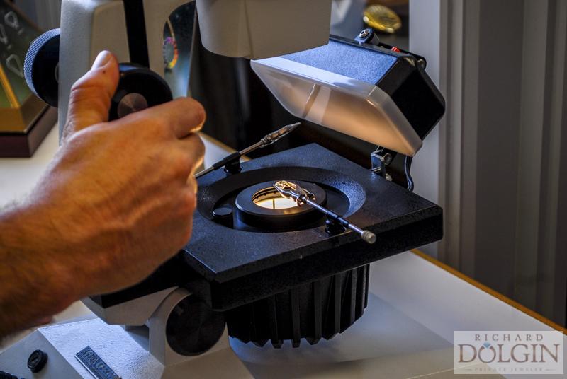 Diamond scope