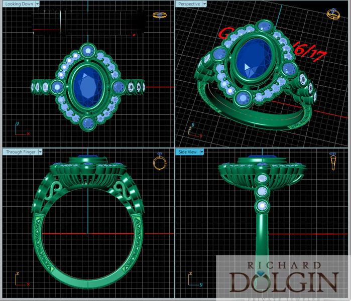 CAD rendering