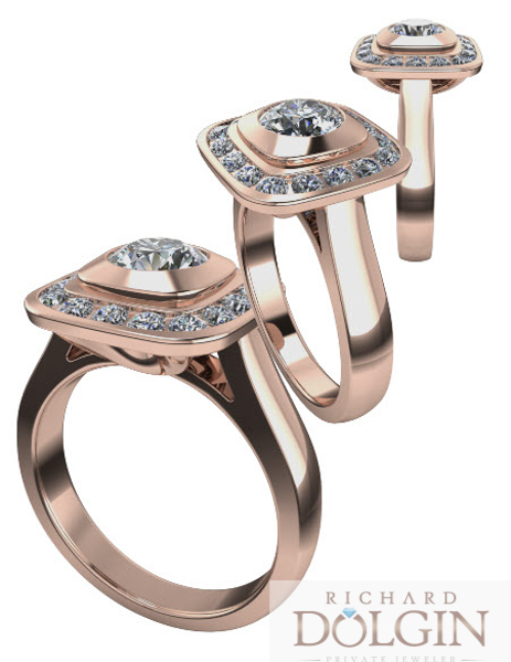 Computer generated ring designs