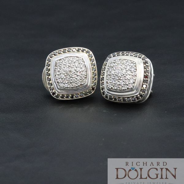David Yurman Pave Earrings