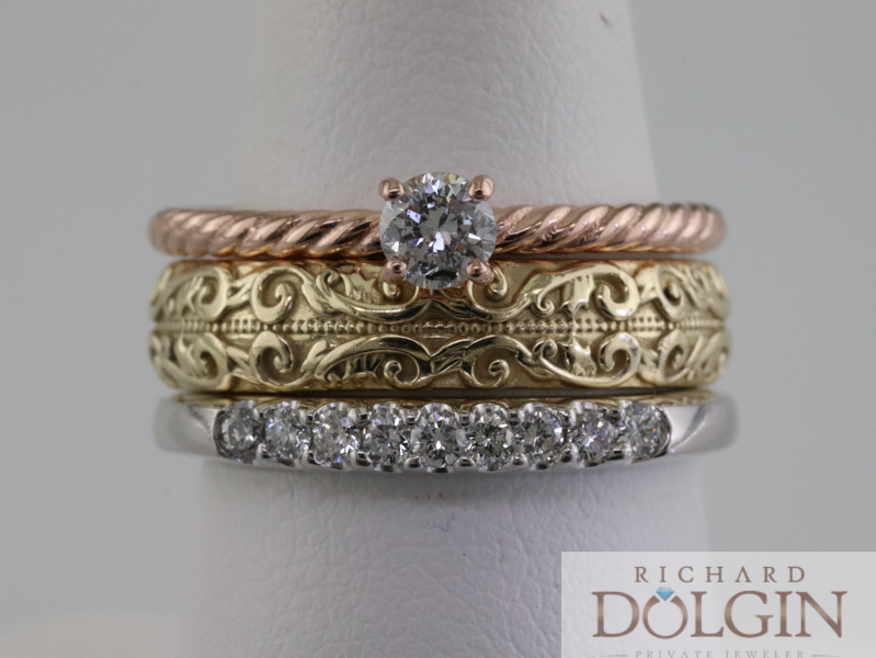 New Stackable Ring Set