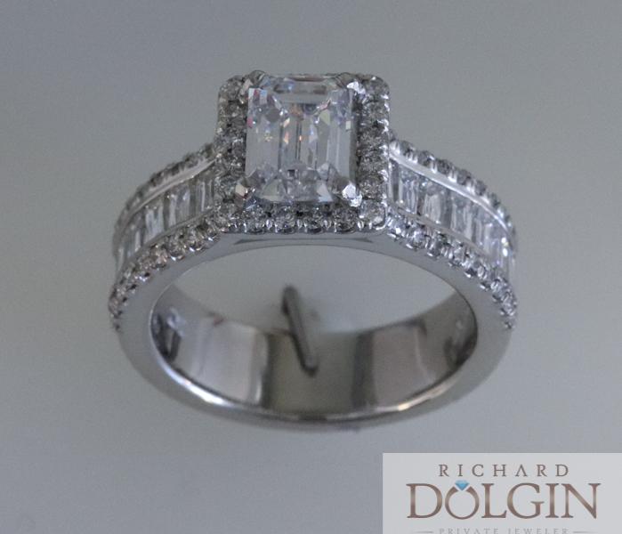 Engagement Rings Kansas City: Enchanting Emerald Cut Diamonds