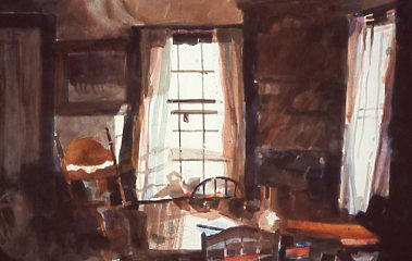 Breakfast for One - 2014 Adirondack National Exhibition of American Watercolors, Express Newspaper Award, 2016 TWSA American Artist Magazine Award