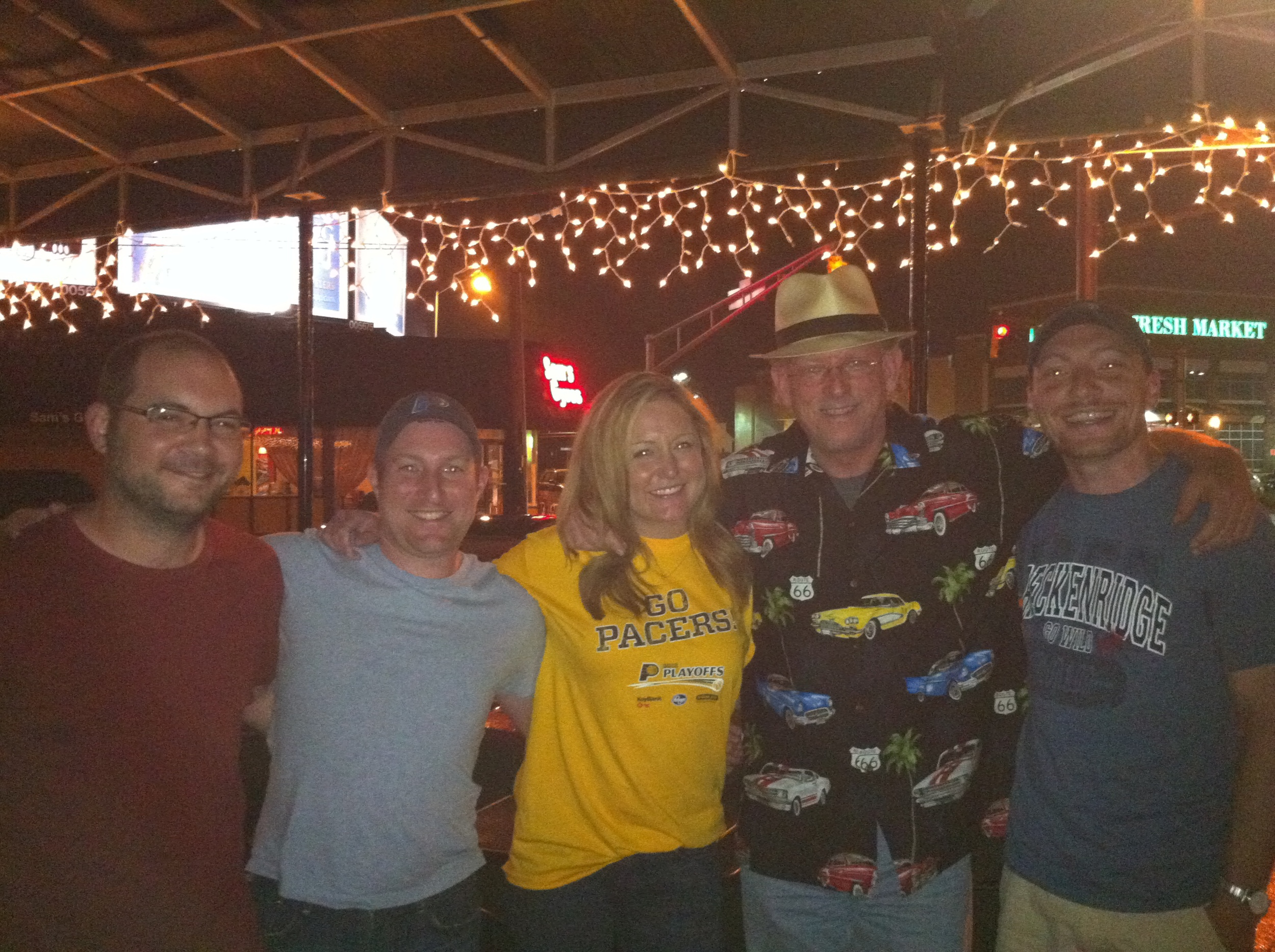 Three of the four Undebeatables met Mark Boyle and Brooke Olzendam during the playoffs last year.