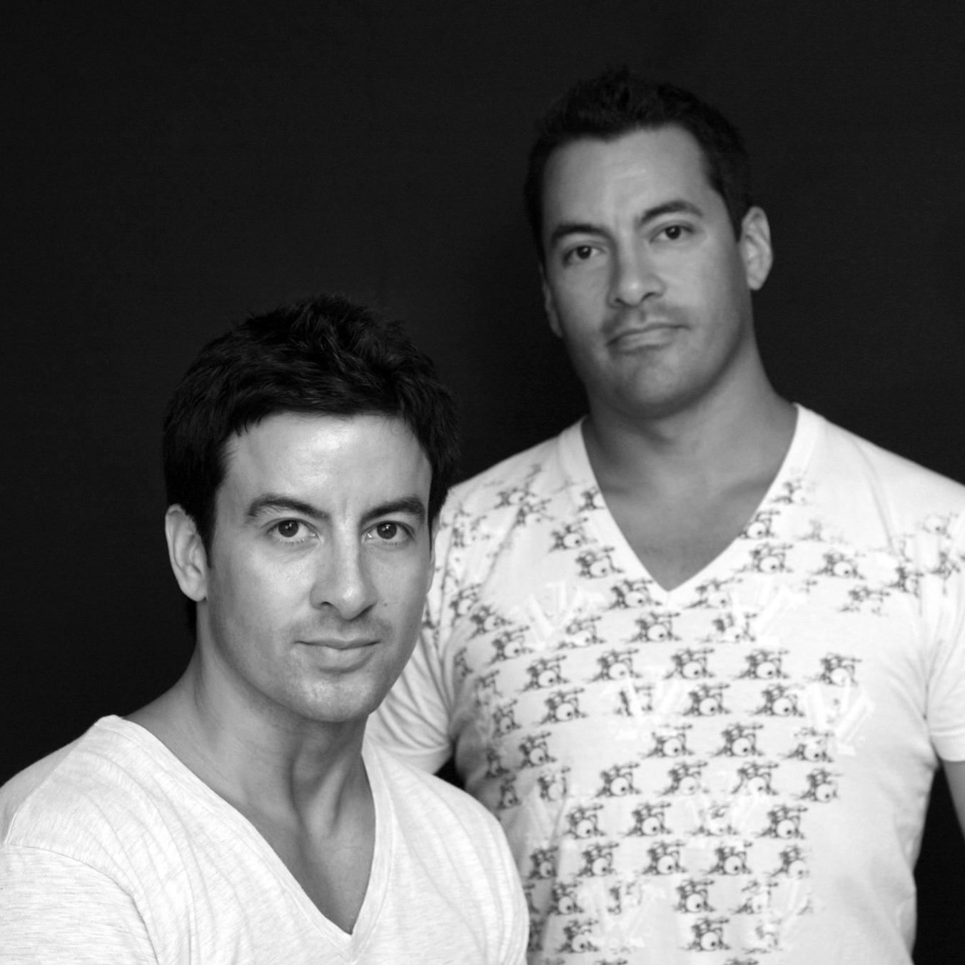 Demian & Alex Vazquez at their Austin, Texas studio.