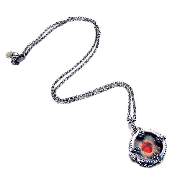 Sterling silver rolo chain: #CHN1