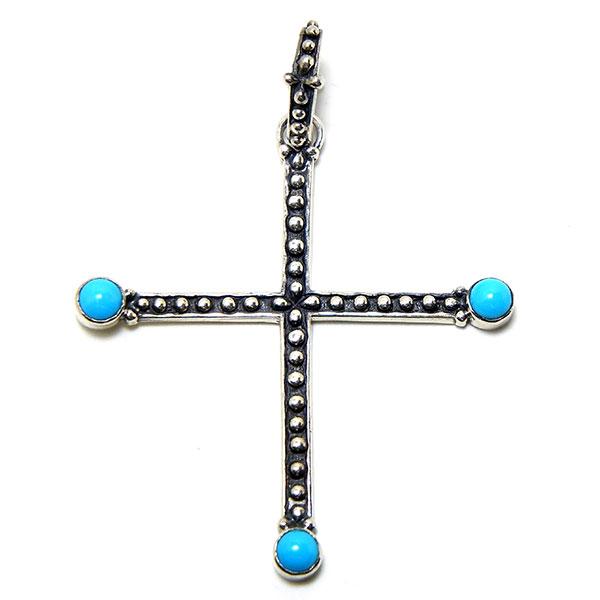 Turquoise cross: #CRSS_TQ