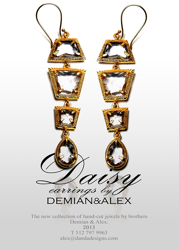 "The new ""Daisy"" earrings: SHOP NOW>>"