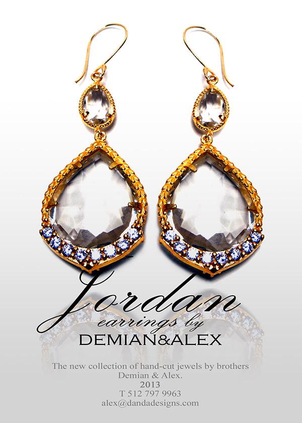 """The new """"Jordan"""" earrings: SHOP NOW>>"""