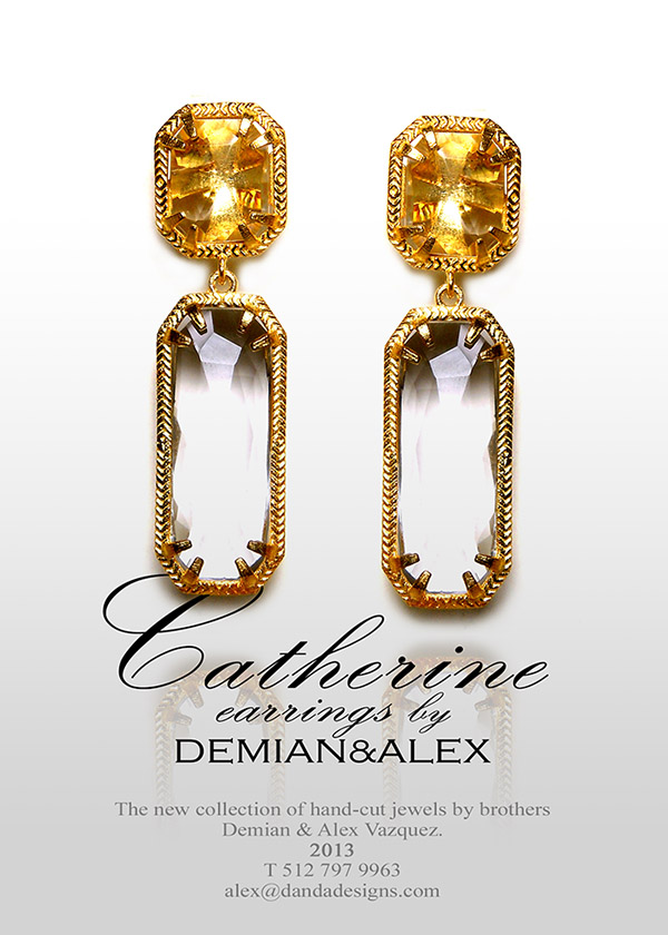 """The new """"Catherine"""" earrings: SHOP NOW>>"""