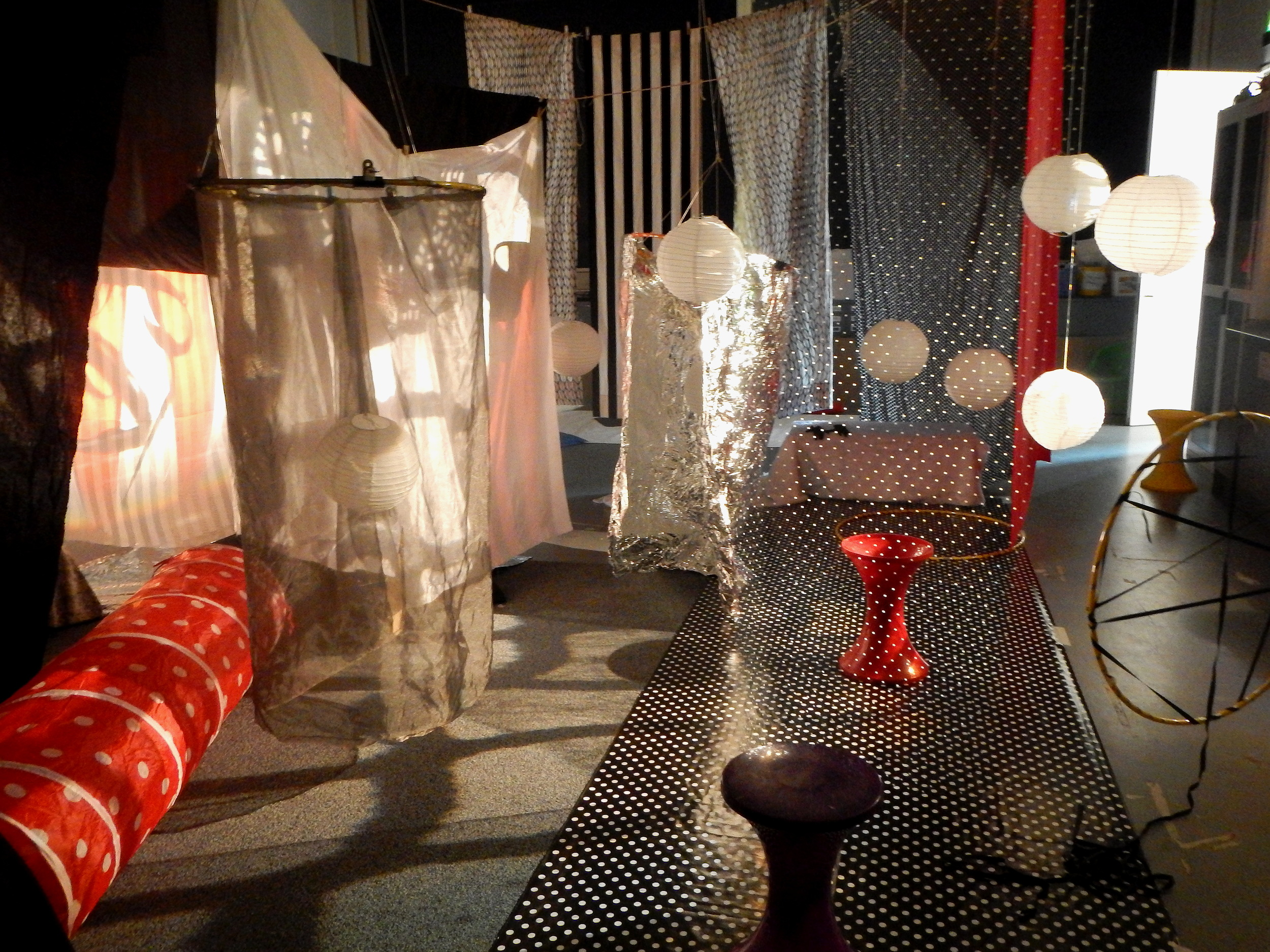 Immersive Installation at Mini Art Club Manchester: inspired by Modern Japanese Design