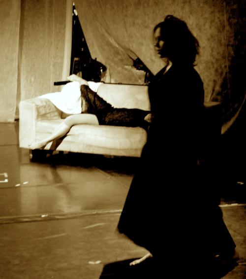 Mortal road movie-Rehearsals with dancers Saara Töyrylä & Kira Riikonen