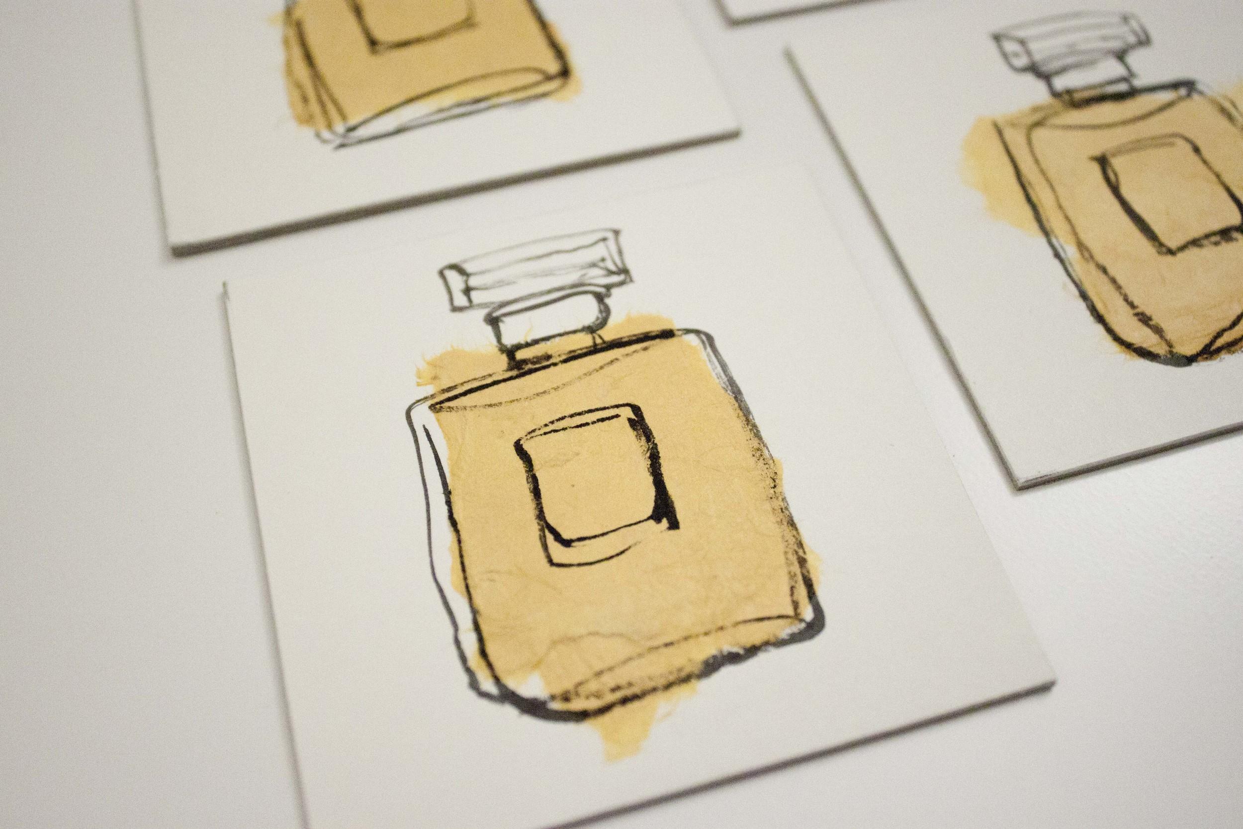 Chanel No. 5 Illustration by Victoria-Riza