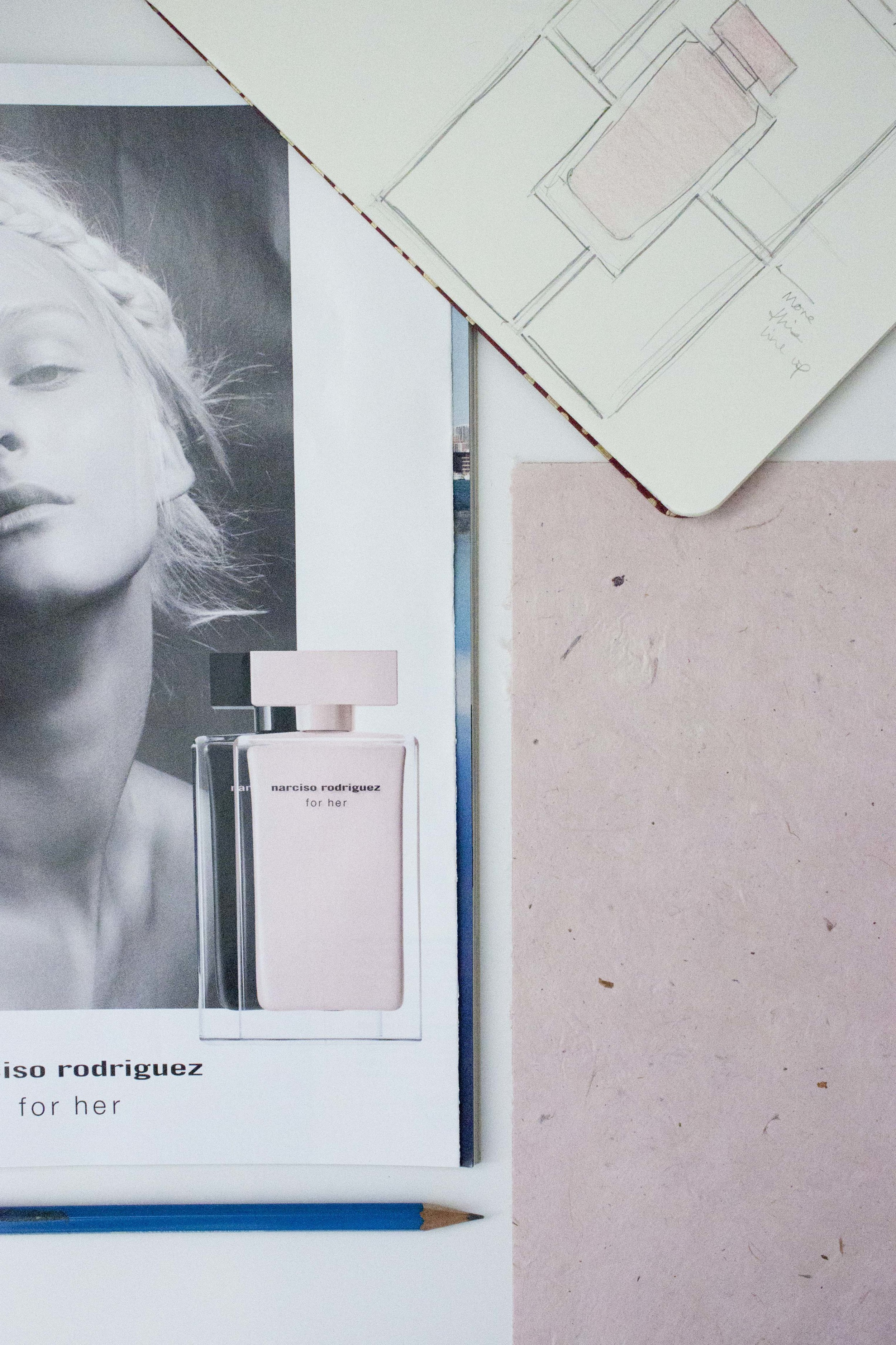 Narciso Rodriguez For Her illustrated by Victoria-Riza