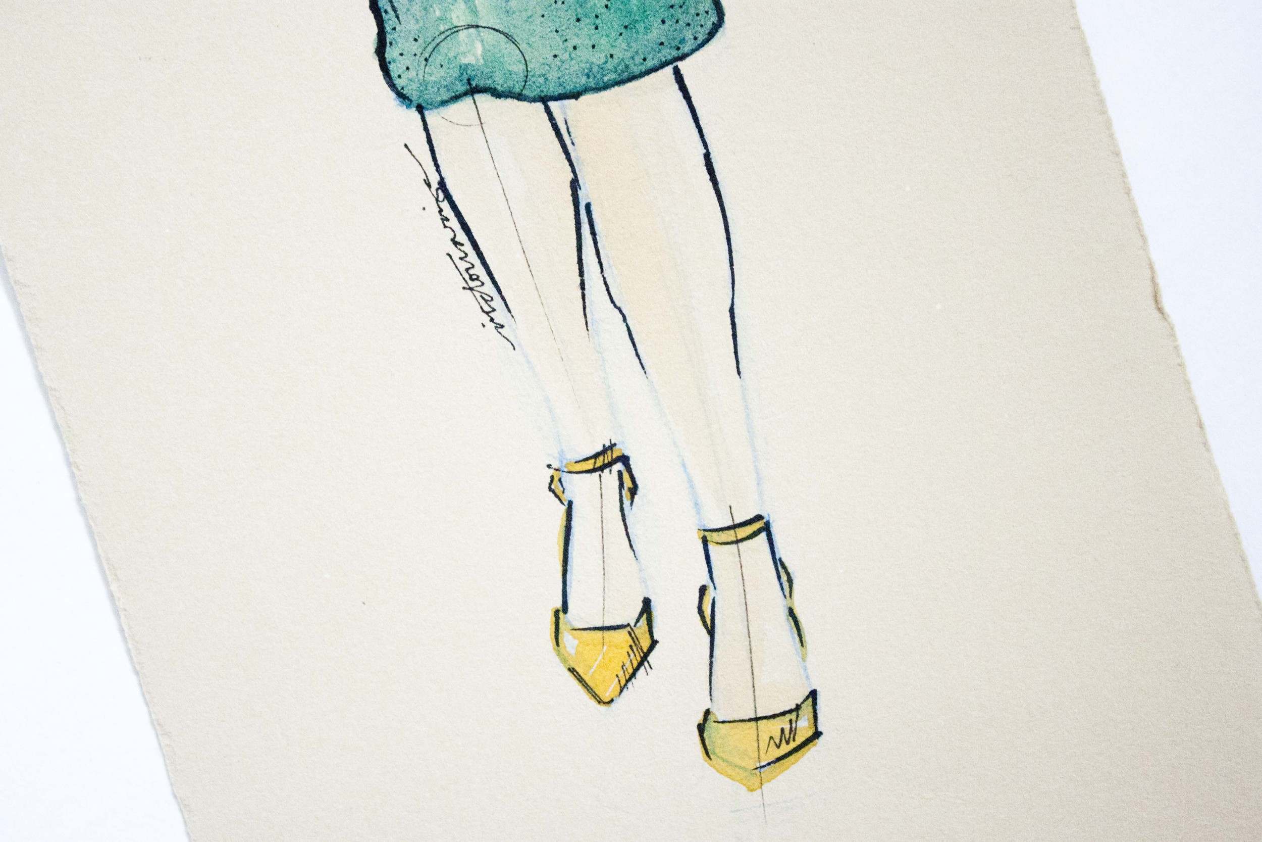 Burberry Spring 2012 illustrated by Victoria-Riza