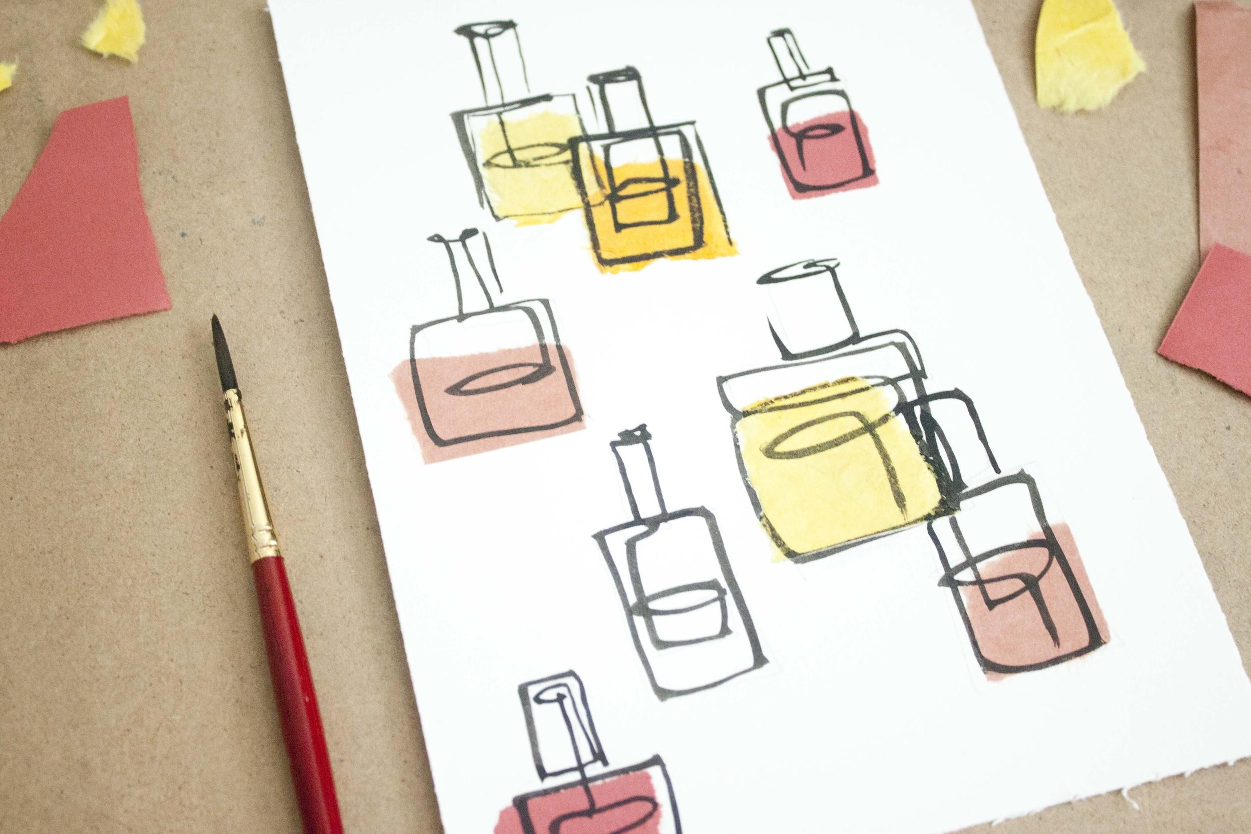 Nail Polish Illustration by Victoria-Riza
