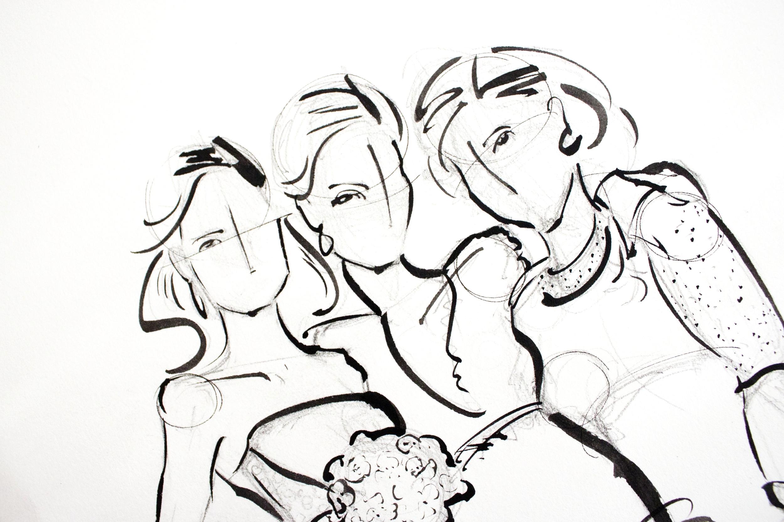 Victoria-Riza Fashion Illustrator   Portraits