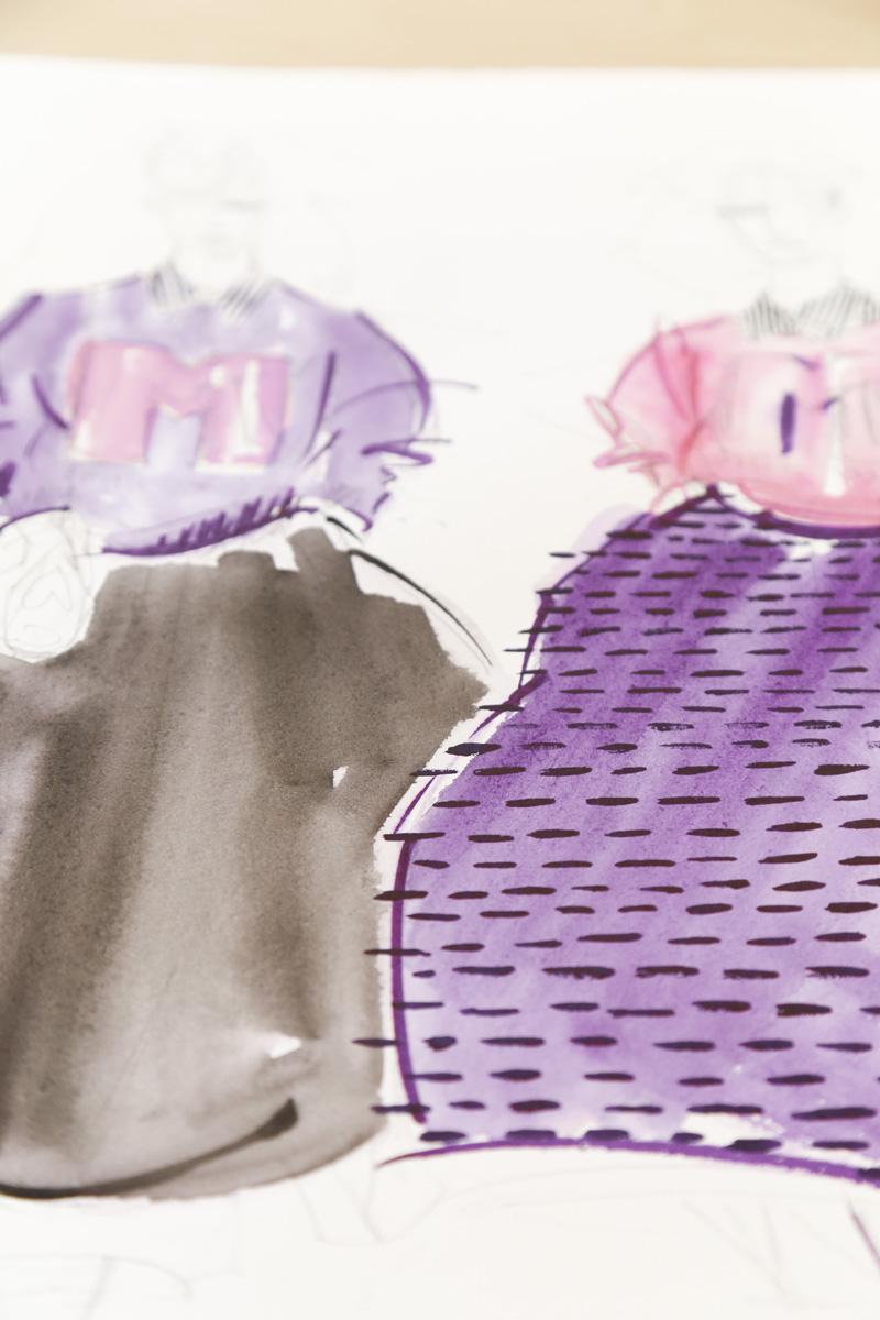 Victoria-Riza | Fashion Illustration |Marc Jacobs Resort 2017