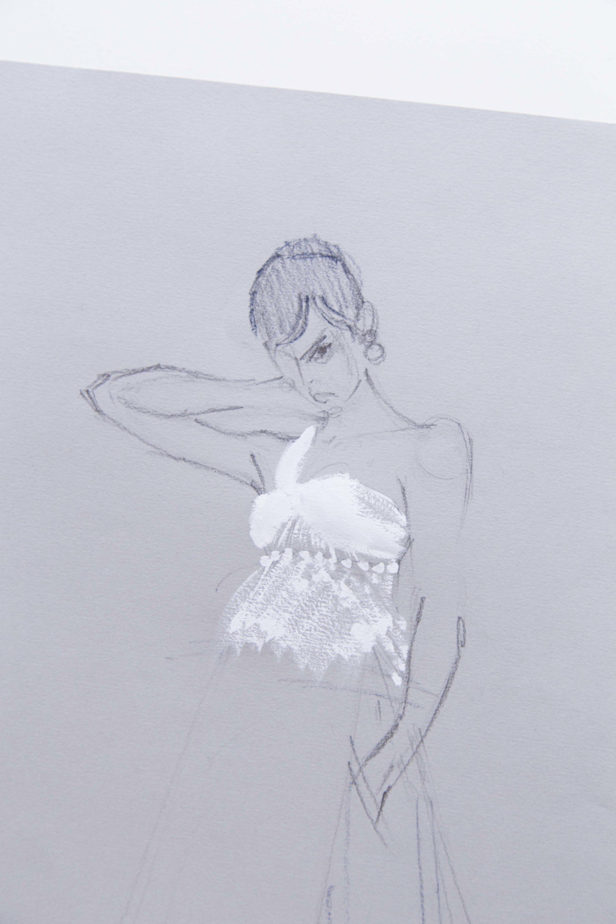 Victoria-Riza | Fashion Illustrator | Givenchy Couture Fall 2016