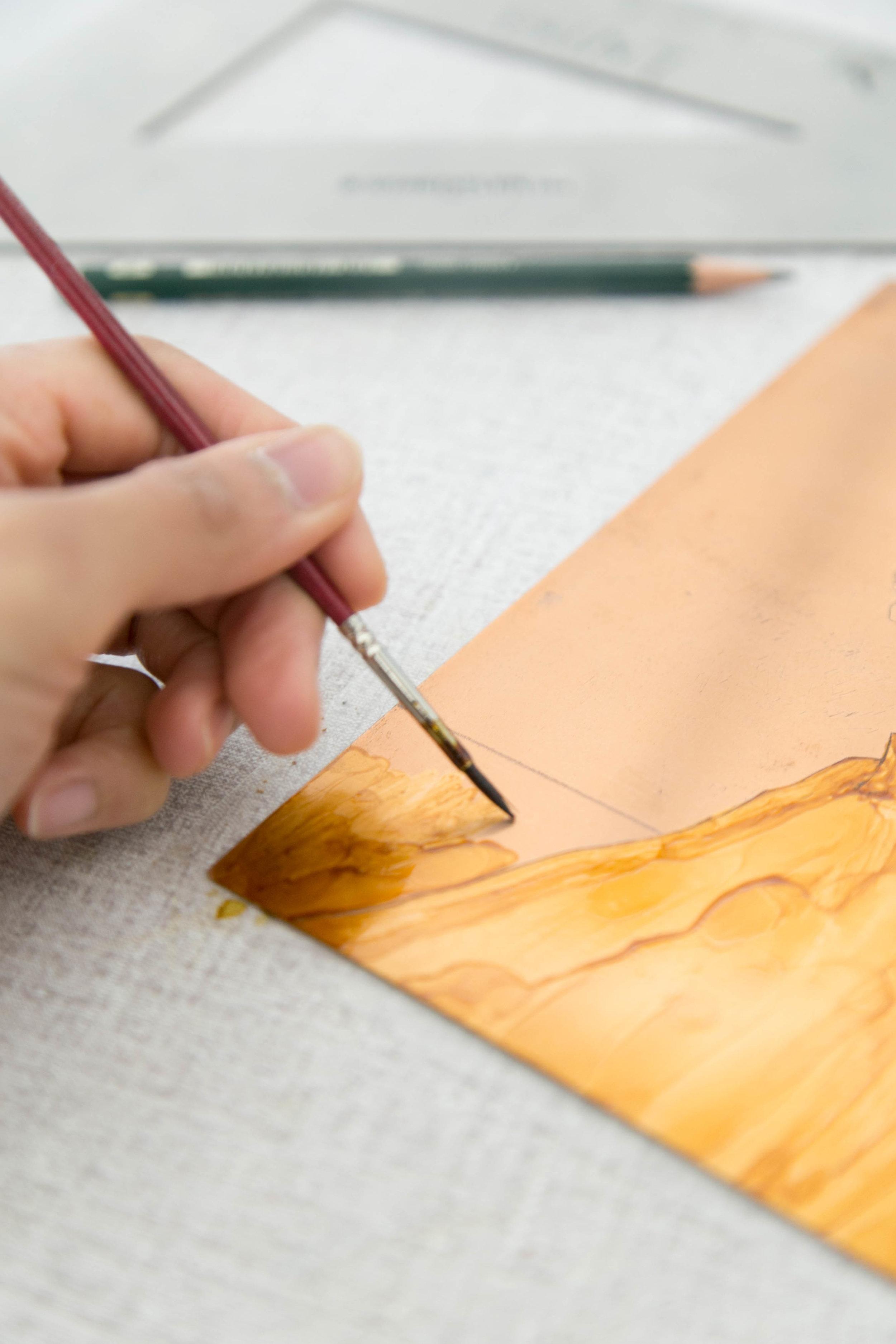Victoria-Riza   Fashion Illustrator & Printmaker   Intaglio Etch   The Bob and the Sweater