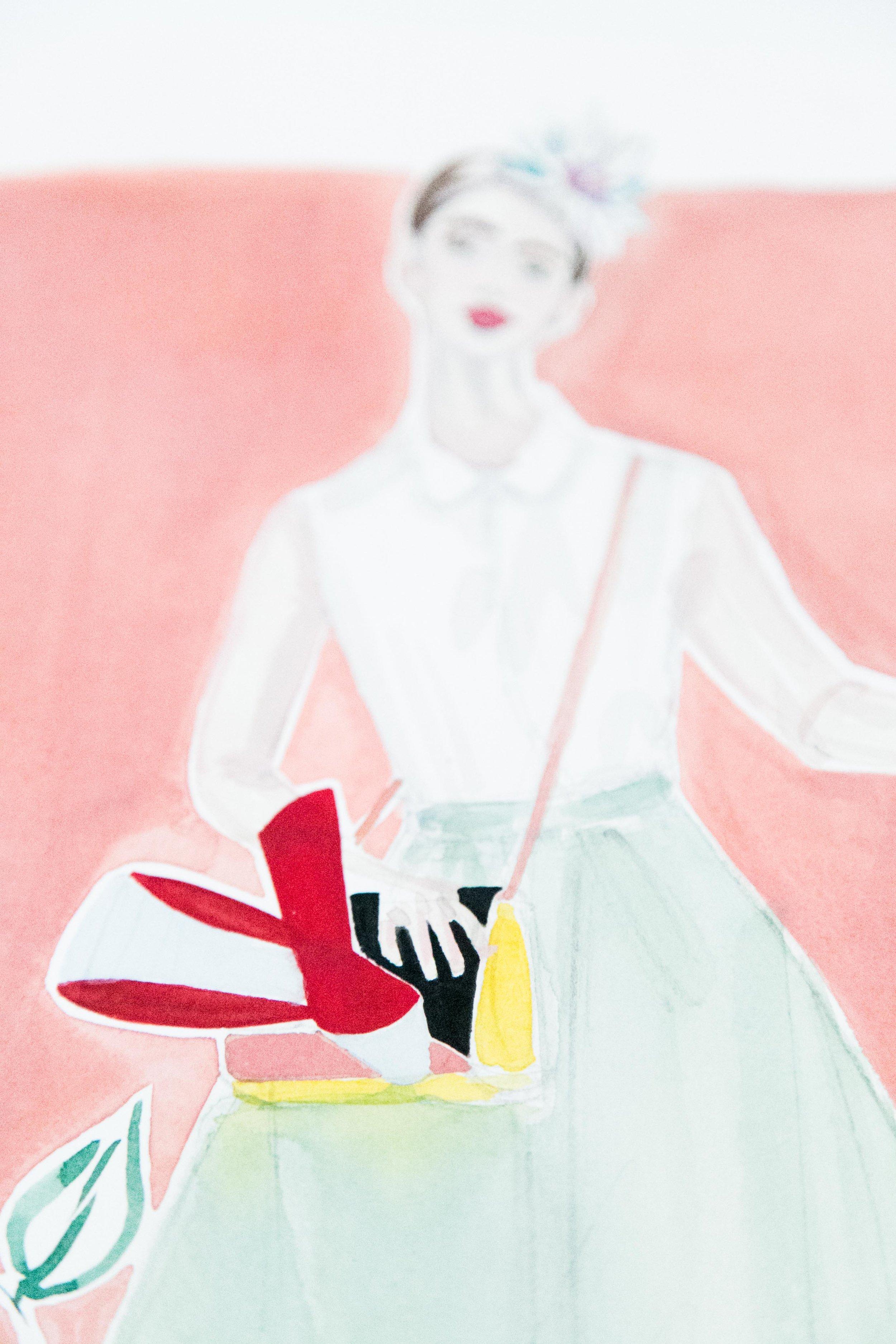 Victoria-Riza Fashion Illustrator   Delpozo Pre-Fall 2018