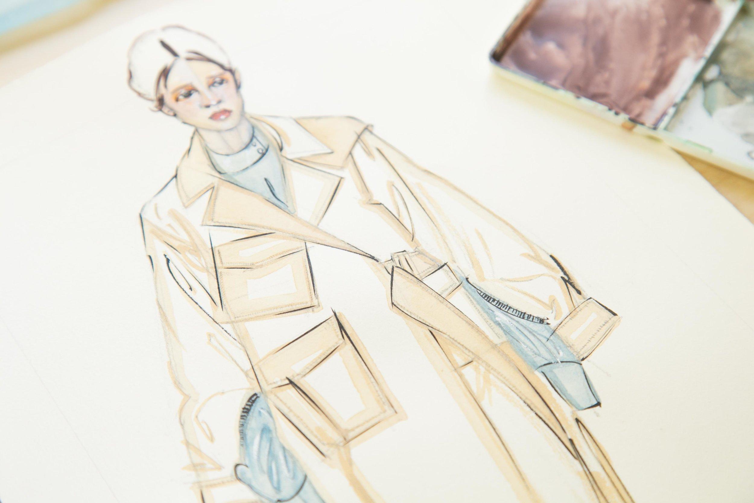 Victoria-Riza Fashion Artist | Rejina Pyo Fall 2018 RTW