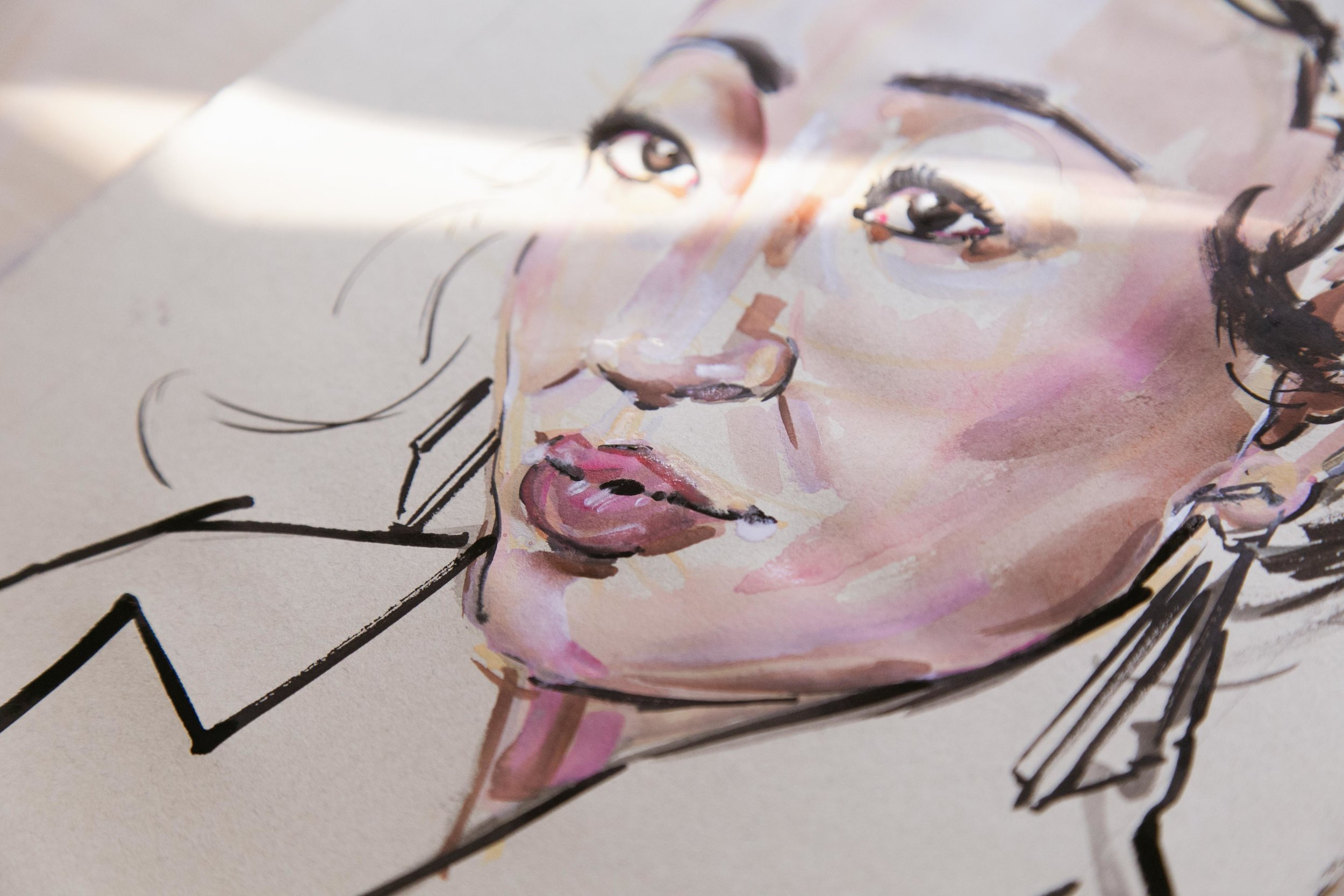 Victoria-Riza Fashion Illustrator | Sandra Oh is the first Asian women to be nominated for Lead Actress in a Drama Series for her role in Killing Eve