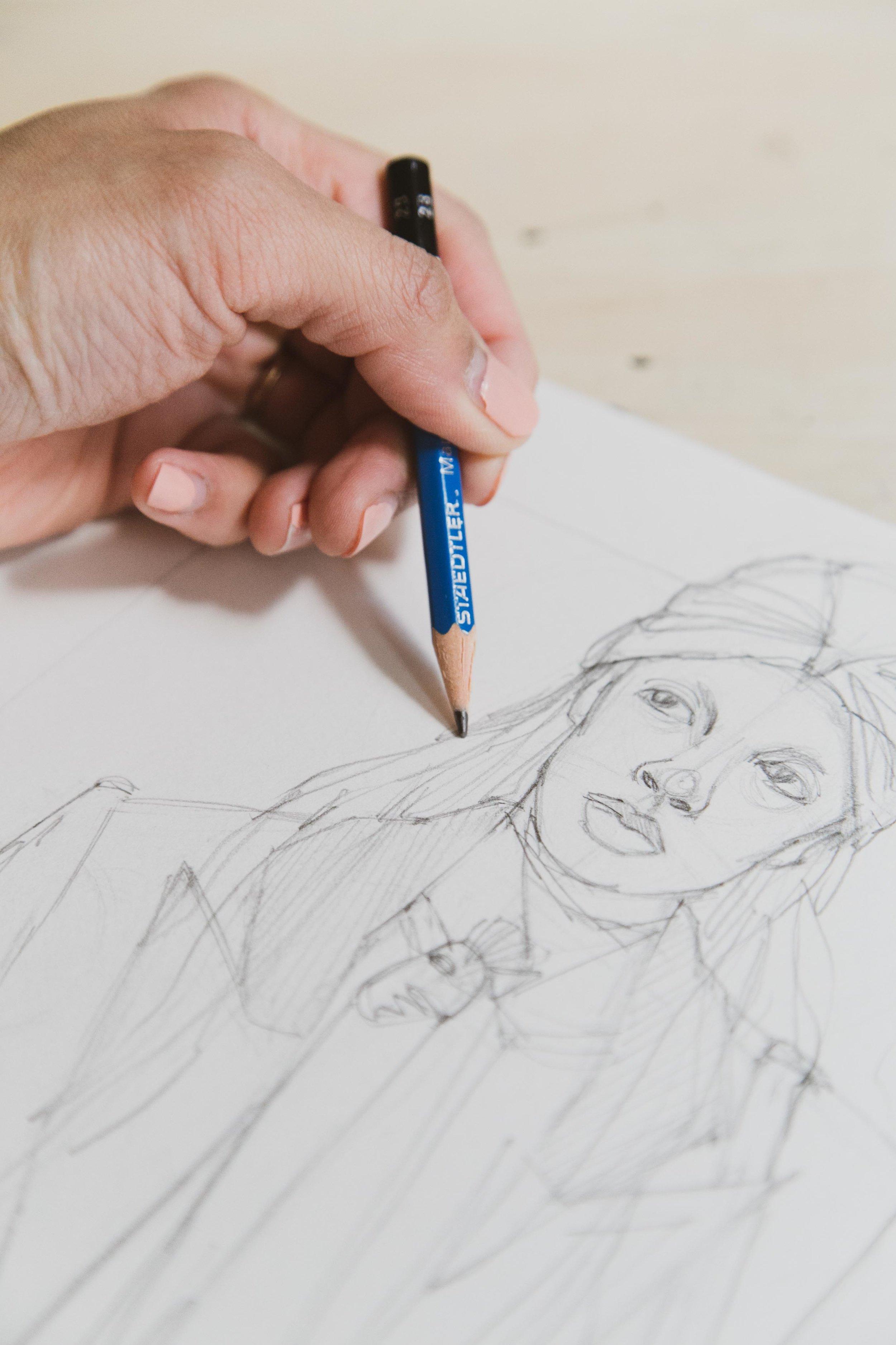 Victoria-Riza Fashion Artist and Illustrator | Kate Spade Fall 2019 RTW
