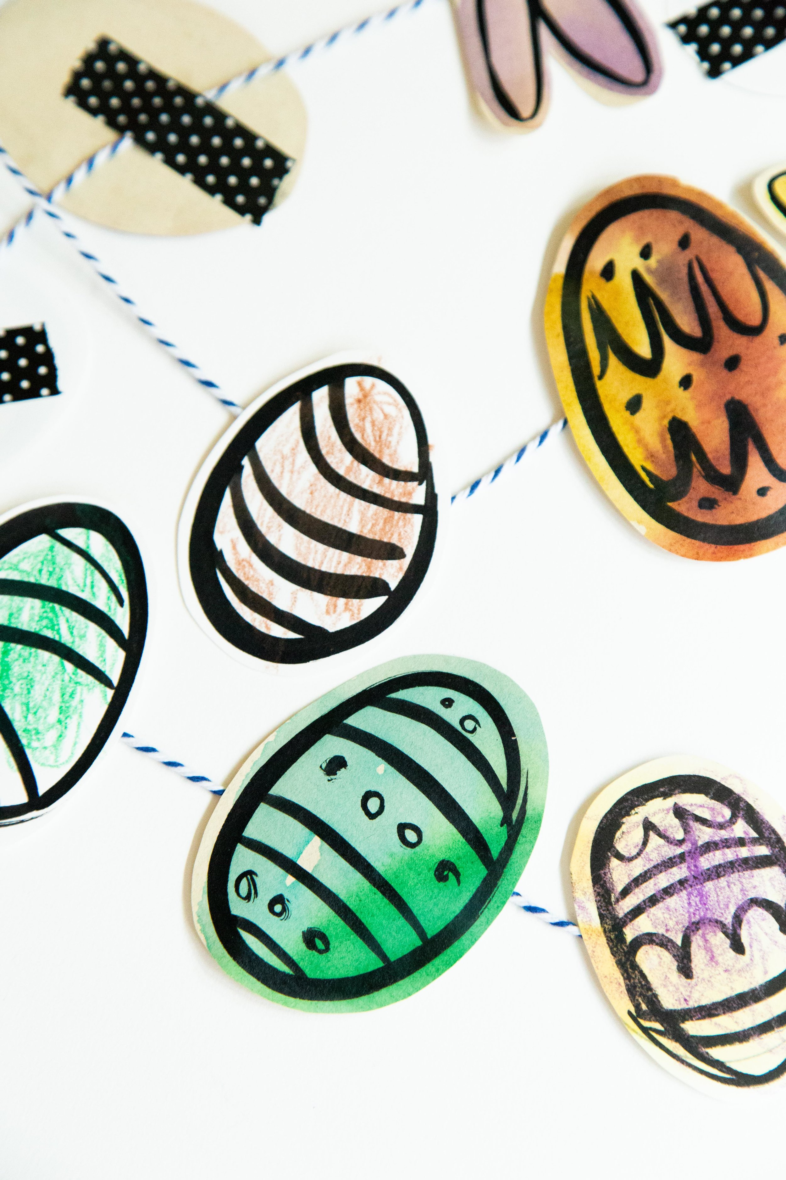 Victoria-Riza Fashion Artist and Illustrator | Mommy + Me Art | Easter Egg Printable