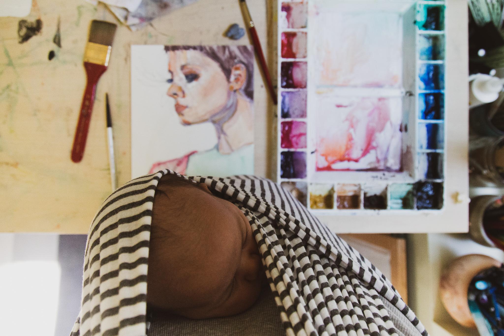 Victoria-Riza Art + Illustration | Postpartum Life | Valentino Couture Spring 2019 Beauty