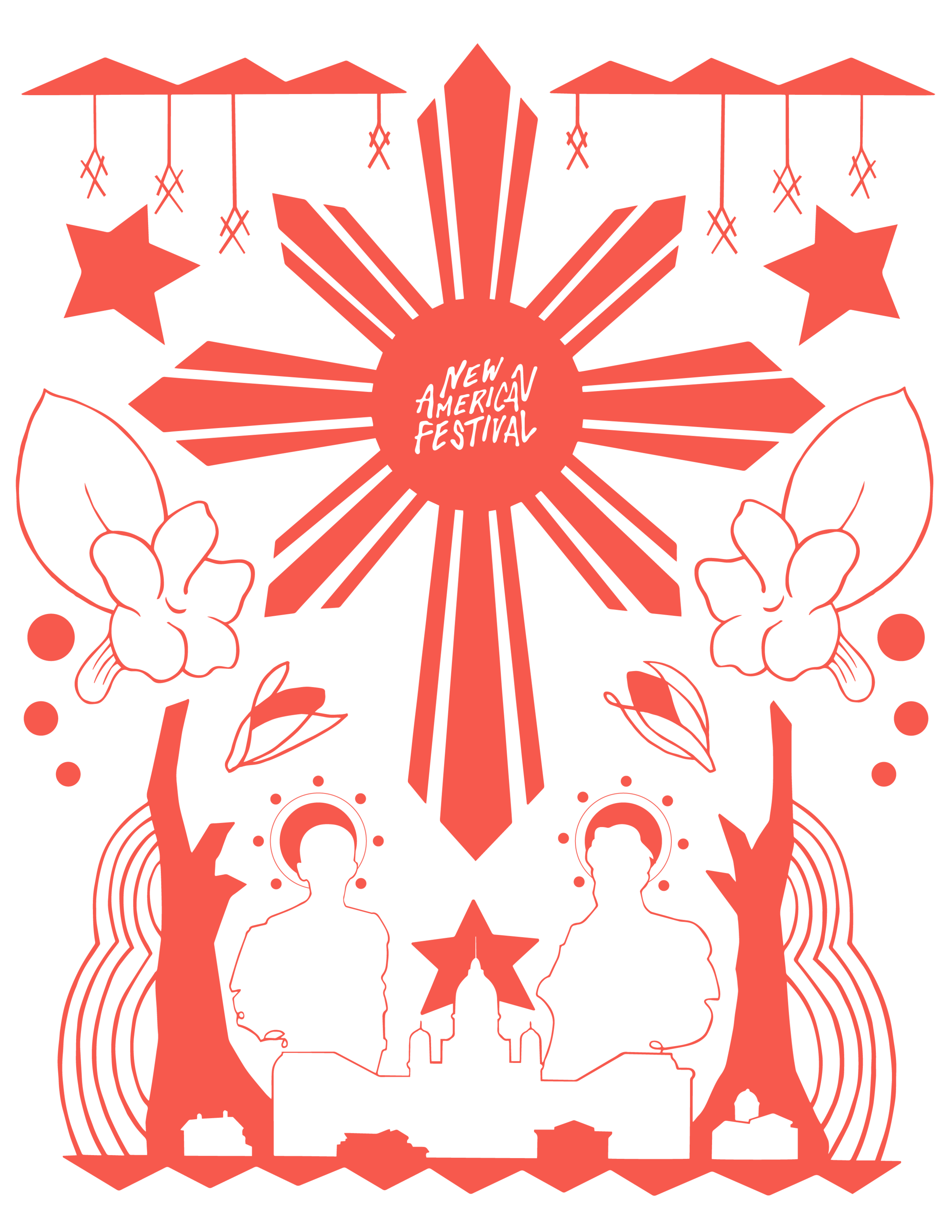 Design by Victoria-Riza for New American Economy for the New American Festival