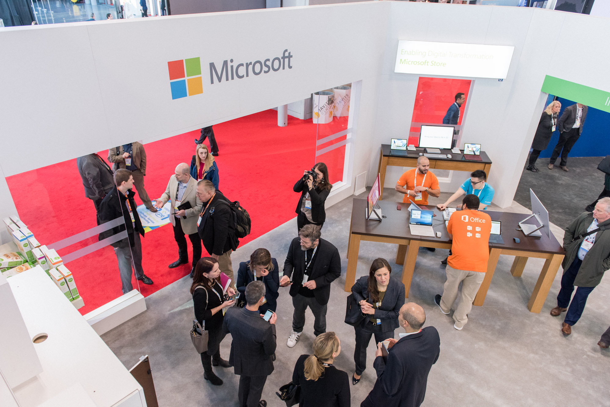 Microsoft Convention Booth Photographer / Photography