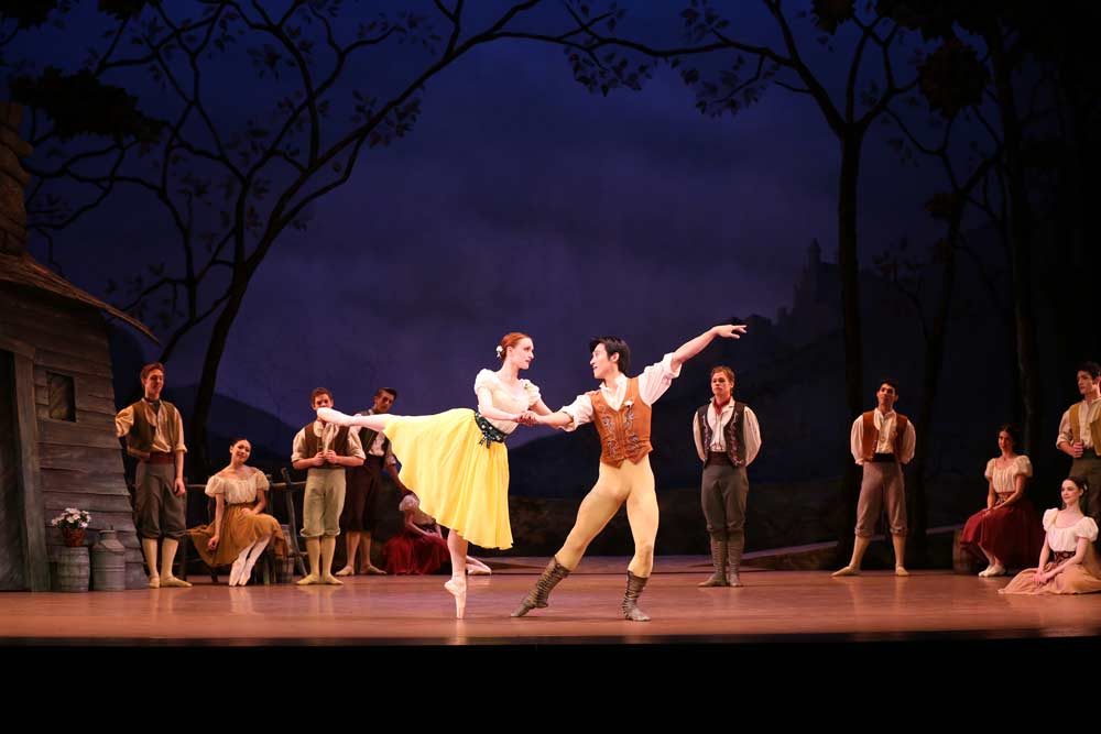 I just  love  Act 1 of Giselle. I think in a past life I must have been a village peasant. ;)