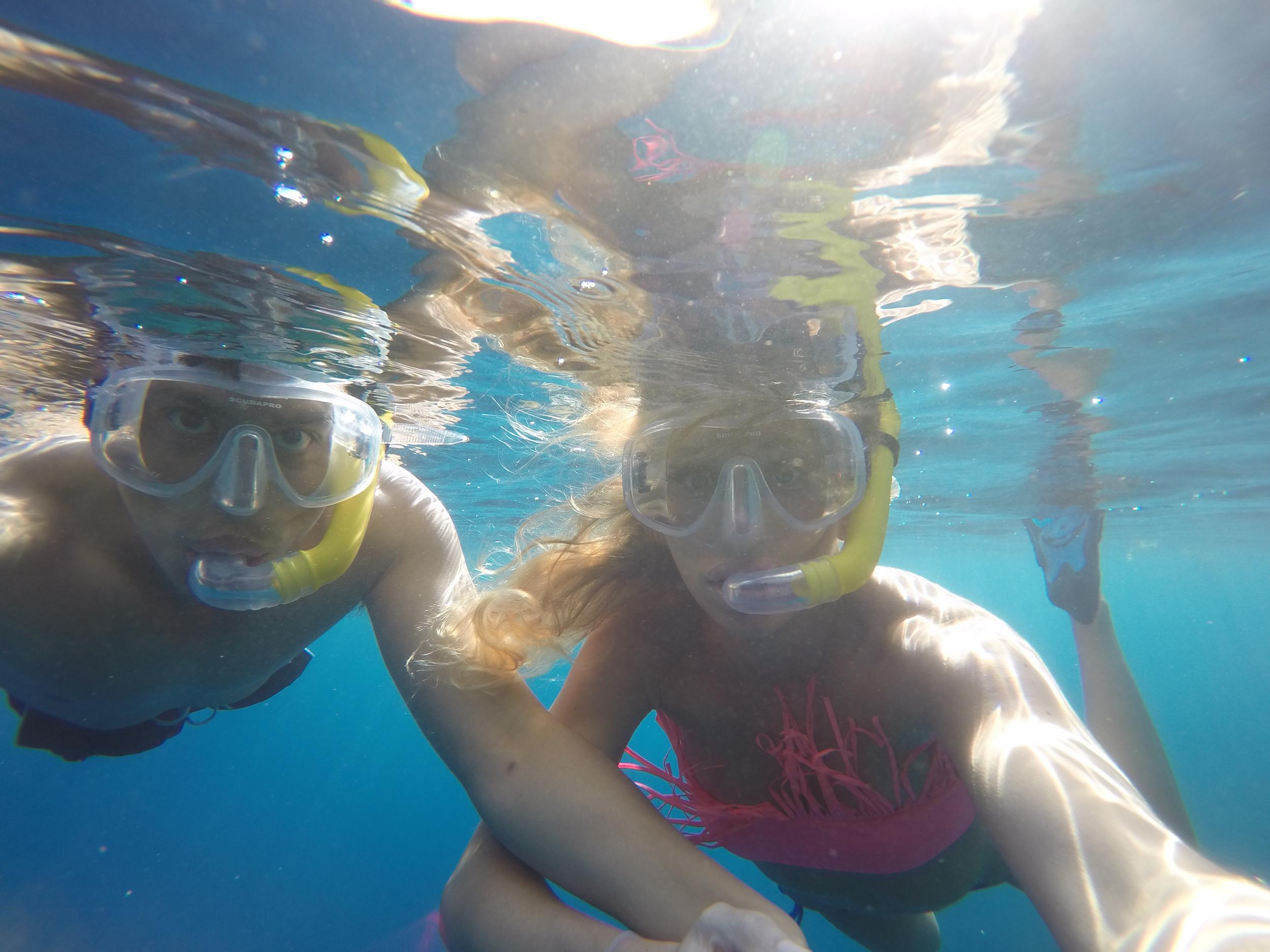 Snorkeling in Saint Lucia