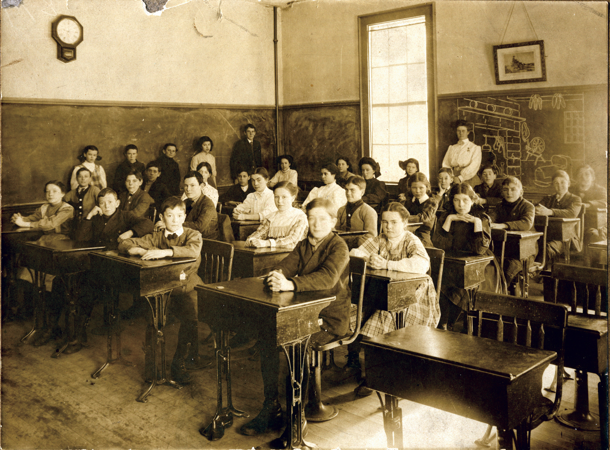 Historic Classroom - courtesy of  William Creswell   - Flickr
