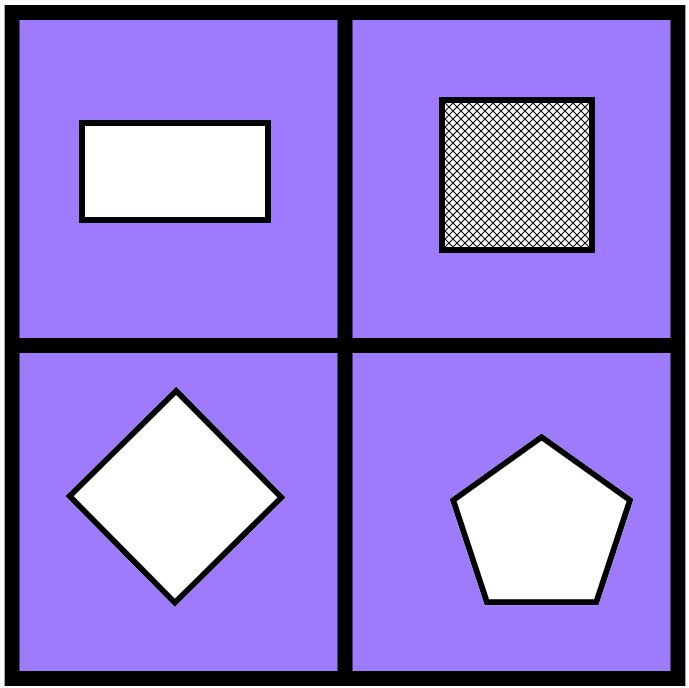 Image Source - Which One Doesn't Belong -  https://wodb.ca/shapes.html
