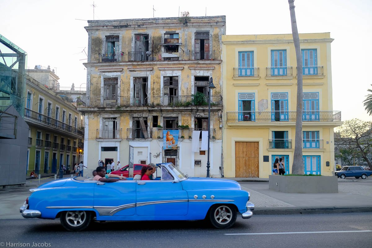 On visiting Cuba in the weeks after Fidel Castro's death -